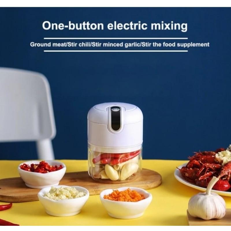 Mini Electric Garlic Grinder