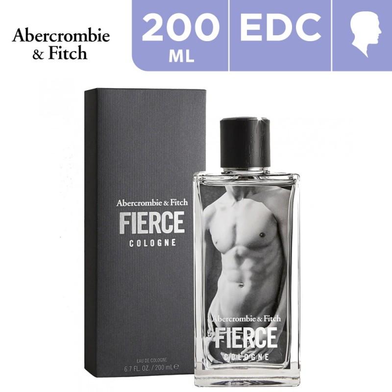 200ml Abercrombie & Fitch Fierce Eau De Cologne