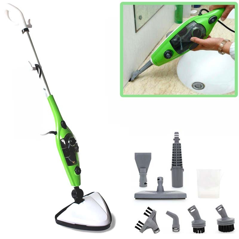 1300W 10 in 1 Steam Mop Cleaner