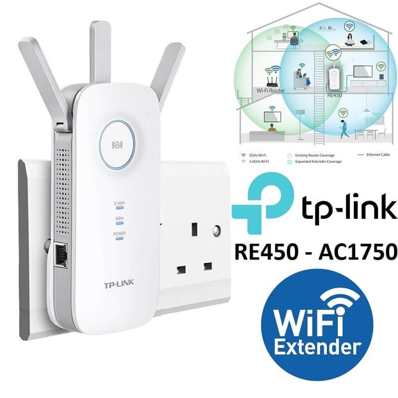 TP-Link AC1750 Wi-Fi Extender w/ Gigabit Ethernet Port