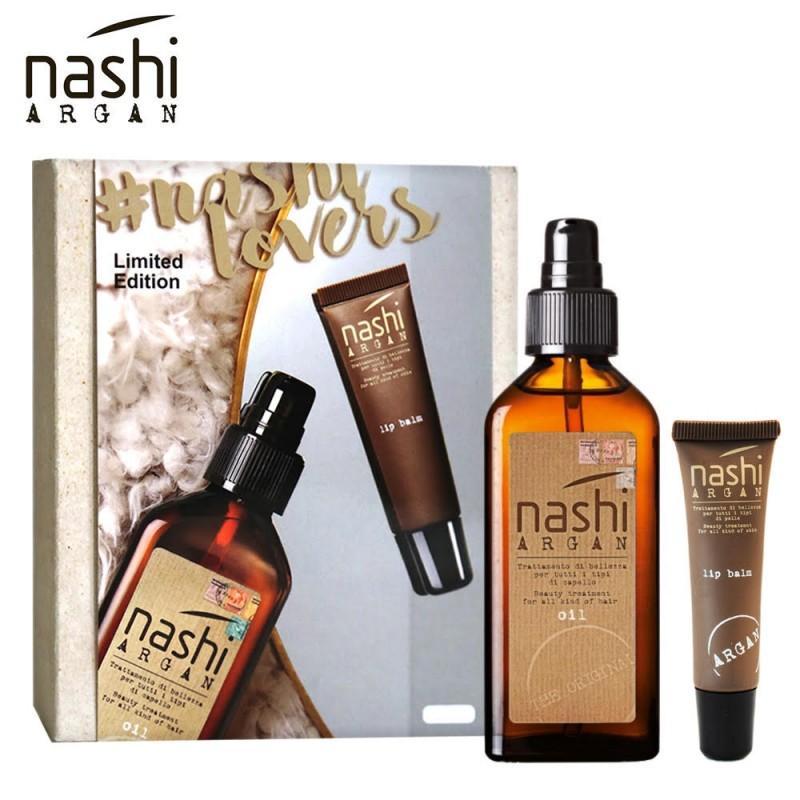 100ml Nashi Argan Dry Oil Perfect Body  + Lip Balm Limited Edition