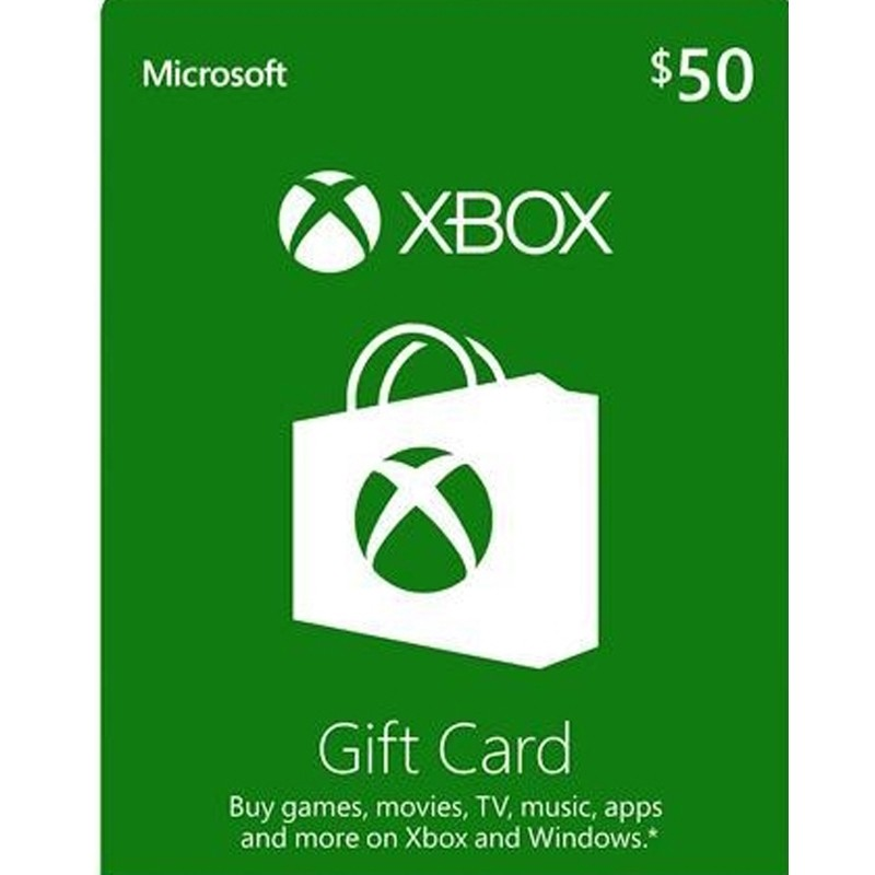 $50 XBox Card - US