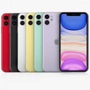 هاتف أيفون 11 شريحة الكترونية سعة 64 جيجابايت 4G LTE من Apple