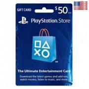 بطاقة شبكة سوني بلايستيشن بقيمة 50 دولار (الألعاب الأونلاين) للحسابات الأمريكية فقط