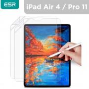حماية شاشة زجاجي iPad 4(2020) Pro11 من ESR - لون شفاف
